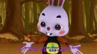 《火火兔学前英语》大班第10课 rabbit and tortoise