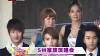 SM家族演唱会 SM明星齐亮相