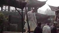 元彪在少林寺传奇 第二部 拍摄现场