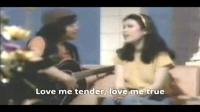 陶大伟 黄莺莺演唱歌曲《Love Me Tender》
