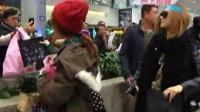 韩国女子团体Miss A旋风抵台 机场大展亲民作风 120108