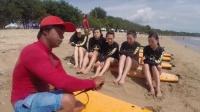 巴厘岛度假冲浪体验
