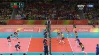 [全场回放]女排1/4决赛 中国VS巴西