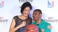 Janet和老公首合体 全靠NBA传奇 160411