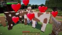 我的世界Minecraft【大橙子x红酒】女汉子冒险生存-第③集-随便的一天