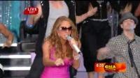 [杨晃]最新美国榜冠军曲性感粉色装超级天后玛丽亚凯莉Mariah Carey爱抚我Touch My Body最新现场