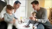 瑞奇·马丁被曝同性结婚 拉老公小孩度蜜月曝温馨照片