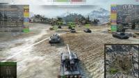 坦克世界尿座解说 双万伤E100与TD达人小E