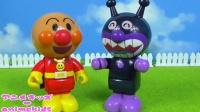 红豆面包超人&细菌小子 一起刷牙的趣事 それいけ!アンパンマン 日本玩具