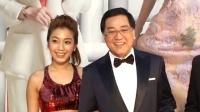 第35届香港电影金像奖 秦沛携儿女亮相红毯 160403