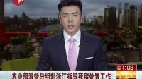 农业部派督导组赴浙江指导死猪处置工作