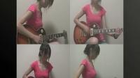 [牛人]蓝精灵吉他4重奏