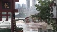 拍客冒险拍摄重庆翻船惊险一幕