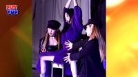 宣美回归发专辑 紫裙飘逸秀招牌美腿