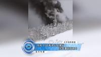危险 日本草津火山爆发 游客遭砾石砸中