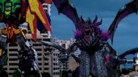 神兽金刚之青龙再现 金刚合体迎战巨兽 击退劲敌保地球