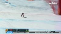 高山滑雪女子超级大回转 捷克选手夺冠后不愿摘雪镜