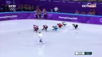 短道速滑女子1500米决赛 17岁小将李靳宇获得银牌