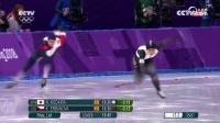 女子速度滑冰500米 日本夺冠