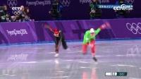 速度滑冰女子500米田芮宁采访