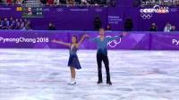 花滑冰舞第九名 美国组合仇科-贝茨