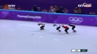 央视评论韩雨桐1000米预赛:应滑的更积极一些