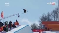 自由式滑雪男子U型场池决赛险象环生