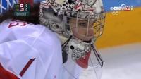 女子冰球决赛美国 VS 加拿大精彩点球对决现场