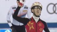 中国首金!武大靖破世界纪录夺金 180222
