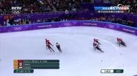 短道速滑男子5000米接力中国摘银
