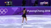 花滑女子单人自由滑-美国队陈楷雯比赛全场