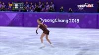 花滑女子单人自由滑-亚军:俄罗斯队梅德韦杰娃比赛全场