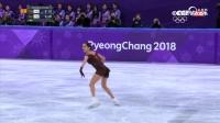 花滑女子单人自由滑-亚军:俄罗斯奥运选手 梅德韦杰娃