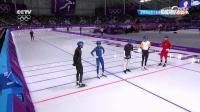 速度滑冰集体出发 王洪利未进决赛