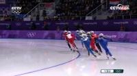 速度滑冰集体出发 郭丹第二晋级决赛