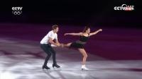 花样滑冰表演滑 俄奥运选手巴巴洛娃/索罗维耶夫