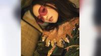 八卦:倪妮式时尚大片 电影质感迷离光影间尽显梦幻