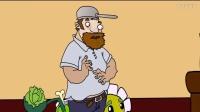 植物大战僵尸2绿色的豌豆(动画)