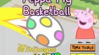 粉红猪小妹投篮球小游戏  爱探险的朵拉 逗逗迪迪爱探险 天线宝宝 粉红猪小妹中文版全集