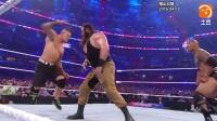 WWE-18年-第32届摔跤狂热经典时刻: 塞纳助强森击退怀特家族-精华