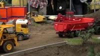 工程遥控模型 模拟建筑工地 遥控挖机拖拉机拖车 合集2