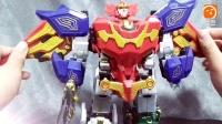 (BGZX社废话扯淡视频)神兽金刚之青龙再现 DX机器人      神兽金刚在国内是很多人气的吗?