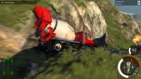 【虎墨】《BeamNG.drive》车祸模拟器 第二期(翻滚的汽车)