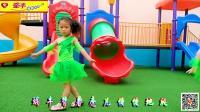 牵手幼儿园幼儿舞蹈示范《愛让我们是一家》