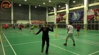 羽毛球双打教学 悦悦教练 双打中简单实用的套路 —— 实战讲解