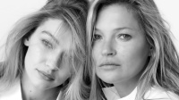 Gigi Hadid Kate Moss for Stuart Weitzman SS18