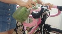 洗干净才好骑 1分钟学会快速清洗自行车