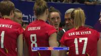 5月16日世界女排联赛中国VS比利时(现场原音)