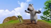 倒霉熊:小熊蜥蜴企鹅山地马拉松,究竟谁胜谁负?小熊蜥蜴企鹅山地赛跑,竞争太激烈了!