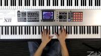 英语钢琴课--高级G Ab琶音